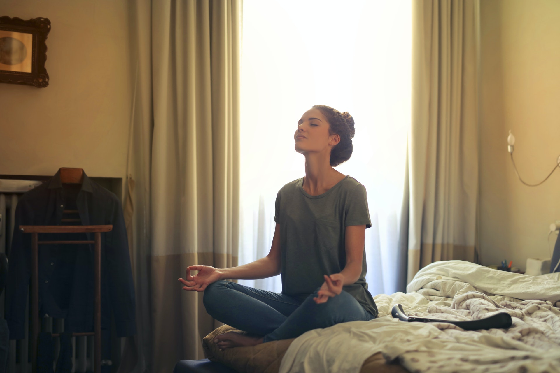 aprender a meditar en casa